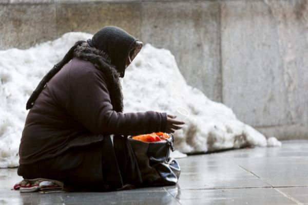 A Poem About Being Homeless in the Cold